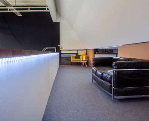 Lounge auf der Empore