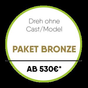 Dreh ohne Cast/Model Paket Bronze