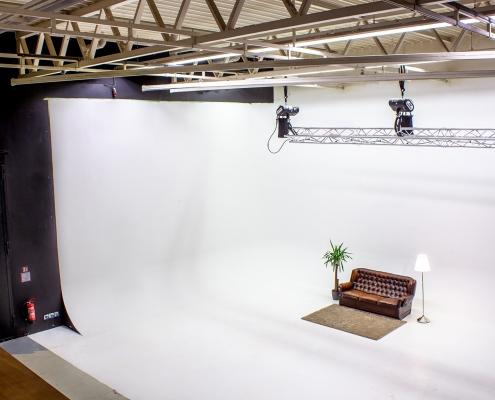 Studio von rechts oben